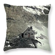 Abbot's Hut 2 Throw Pillow
