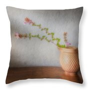 Abelia II Throw Pillow