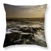 Aberffraw Sunset Throw Pillow