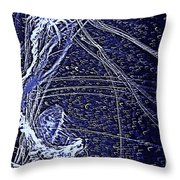 Aberration Of Jelly Fish In Rhapsody Series 3 Throw Pillow