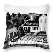 Abigail Adams Home Throw Pillow