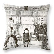 Ability To Be Ruthless, Illustration Throw Pillow