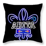 Abita Throw Pillow
