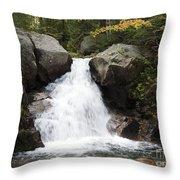 Abol Falls 4672 Throw Pillow