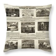 Abolitionism, 1736 Throw Pillow
