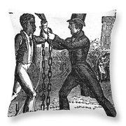 Abolitionist, C1840 Throw Pillow