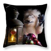 Abominable Christmas Throw Pillow