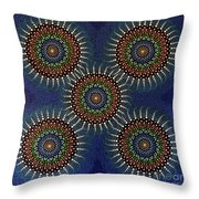 Aboriginal Inspirations 16 Throw Pillow
