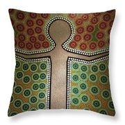 Aboriginal Inspirations 21 Throw Pillow