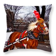 Abound In Hope Throw Pillow