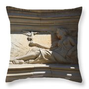 About Everything Throw Pillow