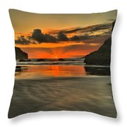 About To Go Out Throw Pillow