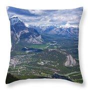 Above Banff Throw Pillow