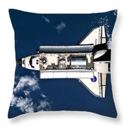 Above Earth Throw Pillow