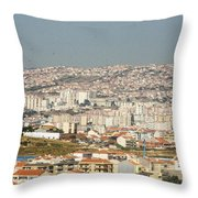 Above Lisbon Portugal Throw Pillow