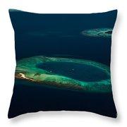 Above Paradise - Turtle Throw Pillow