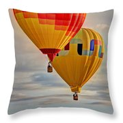 Above Throw Pillow