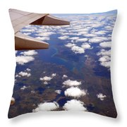 Above The Clouds IIi Throw Pillow