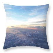 Above The Earth Throw Pillow