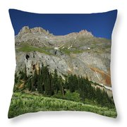 Above The Fruited Plains Throw Pillow