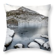 Above The Ice Throw Pillow