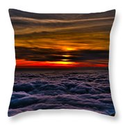 Above The Marine Layer Throw Pillow