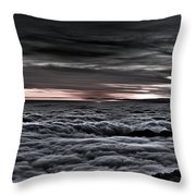 Above The Marine Layer V2 Throw Pillow