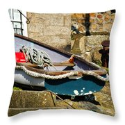 Above The Tideline Throw Pillow