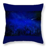 Above The Treetops Wall Mural Throw Pillow