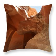 Above Us The Sky Throw Pillow