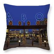 Abq Uptown Entrance Throw Pillow