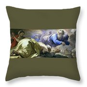 Abraham Heard The Promises Of The Lord Throw Pillow