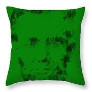 Abraham Lincoln 2a Throw Pillow