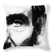 Abraham Lincoln - An American President Throw Pillow
