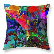 Absent-minded Throw Pillow