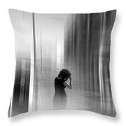 Absract4 Throw Pillow