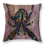 Abstrachid 3 Throw Pillow