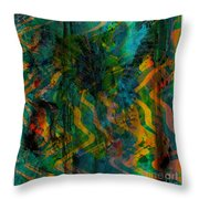 Abstract - Emotion - Apprehension Throw Pillow