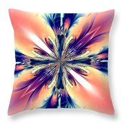 Abstract 012 Throw Pillow