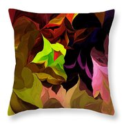 Abstract 012014 Throw Pillow
