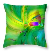Abstract 019 Throw Pillow