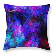 Abstract 021314 Throw Pillow