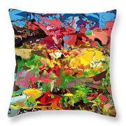 Abstract 022315 Throw Pillow