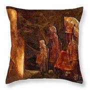 Abstract 0271 - Marucii Throw Pillow