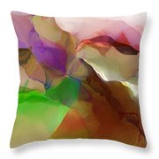 Abstract 030213 Throw Pillow