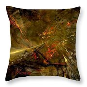 Abstract  0370 - Marucii Throw Pillow