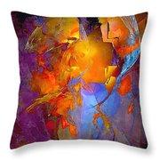 Abstract 0373 - Marucii Throw Pillow