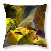 Abstract 042113 Throw Pillow