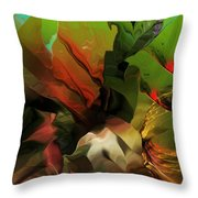 Abstract 050713 Throw Pillow