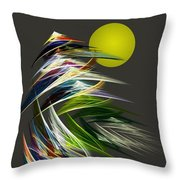 Abstract 051013 Throw Pillow